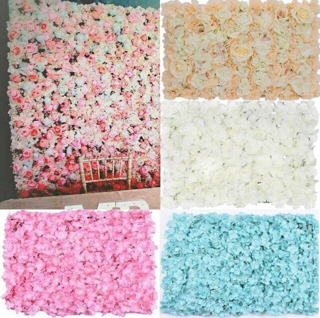 Wall Plastic Panel Holder Rack For DIY Wedding Flower Foral Backdrop 60x40cm 10X