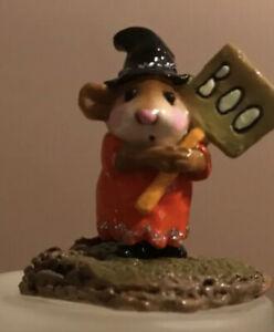 Wee-Forest-Folk-Little-Boo-Halloween-Limited-Edition-m-214-Retired-Pumpkin