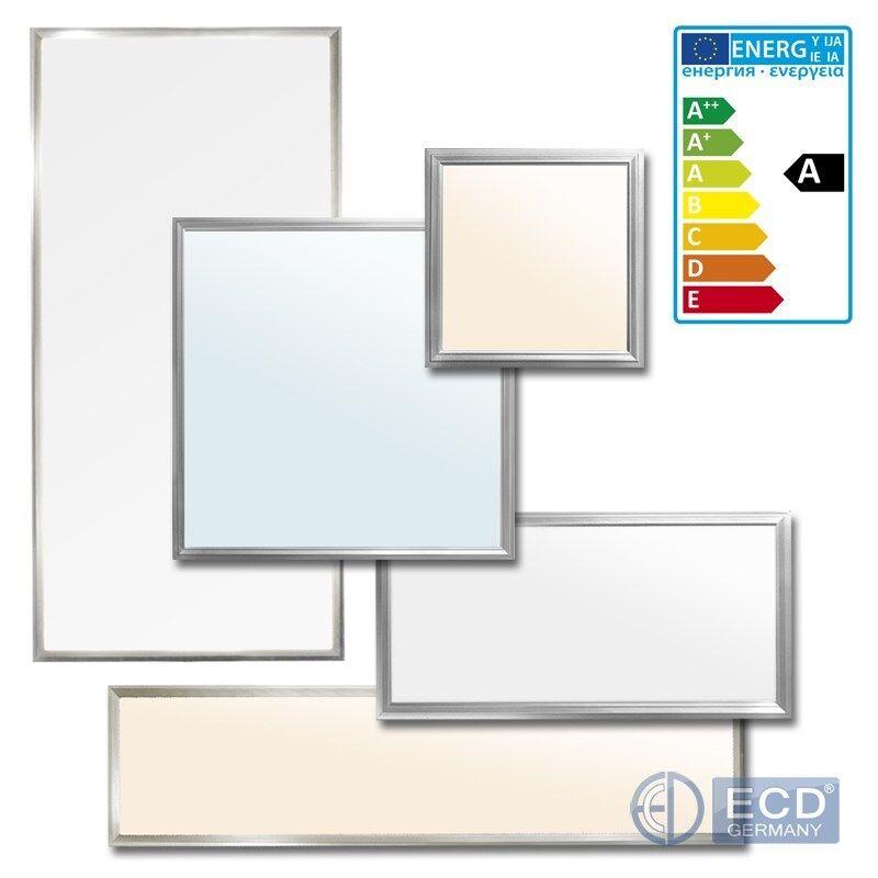 Panel de Oficina LED Luz blancoo Cálido Neutral Frío 30x30 60 60x60 62x62 120x30 60