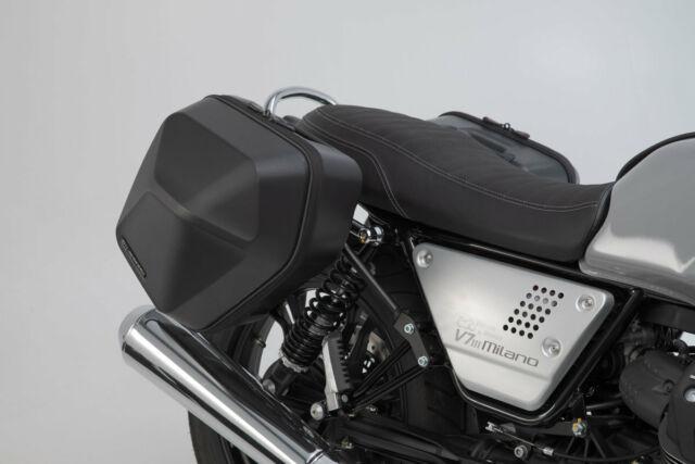 SW-Motech URBAN ABS Side Cases Panniers Set Moto Guzzi V7 III 17-