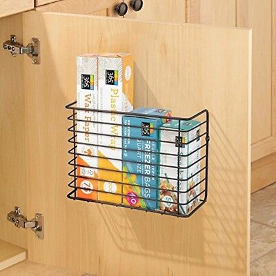 Over Cabinet Door Rack Kitchen Cupboard Metal Organiser Hanging
