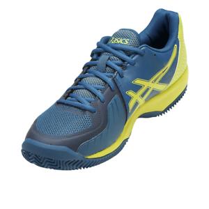 Asics gel Court Clay-caballeros outdoor-zapatillas de tenis-tamaño 47-azul-e801n