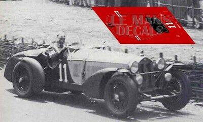 Calcas Alfa Romeo 8C 2300 Le Mans 1932 8 1:32 1:43 1:24 1:18 decals
