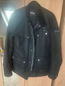 BARBOUR-INTL-DUKE-WAX-PADDED-JACKET-BRAND-NEW-WITHOUT-TAGS-SIZE-XL-SLIM-FIT