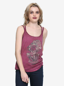 b5e1a419 Image is loading Harry-Potter-Gryffindor-House-Crest-Strappy-Girls-Tank-