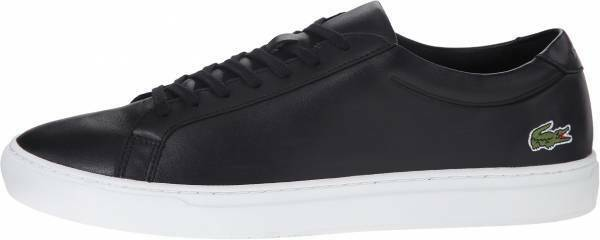 Lacoste Mens L.12.12 116 1 CAM Navy bluee Leather Lace Up Sneakers size 12.5
