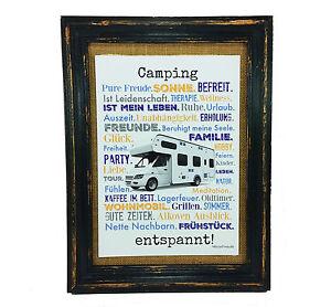 Camping-entspannt-Druck-Poster-A4-Wohnmobil-Camper-Caravan-Geschenk-AnneSvea