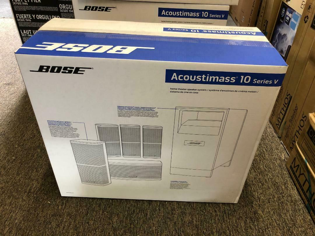 Bose Acoustimass 10 Series V Home Theater Speaker System Brand NEW Free Shipping