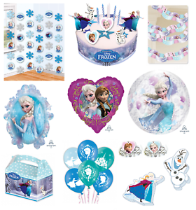 Disney-FROZEN-Party-Decorations-Loot-Bag-Toys-Balloons-Stickers-Gifts-Supplies