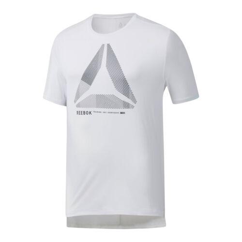 Reebok Herren one series training activechill  move tee  T-Shirt Weiß NEU