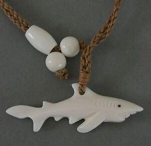 Bone Carving Hai Haifisch