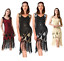 Gatsby-Dresses-Flapper-1920s-Beaded-Great-Party-Vintage-Sequin-Womens-S-Fringed thumbnail 2