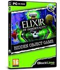 Elixir of Imortality (pc Cd) Hidden Object Game