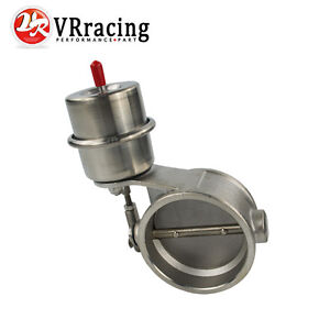Universal Car Exhaust Control Valve 2.5 Fits 63mm D Pipe Vehicle Accessory Close Exhaust Control Valve
