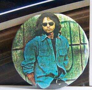 Rare Vintage Pin Metal Pinback 1980s 80s Rock Doors  Jim Morrison w Sunglasses