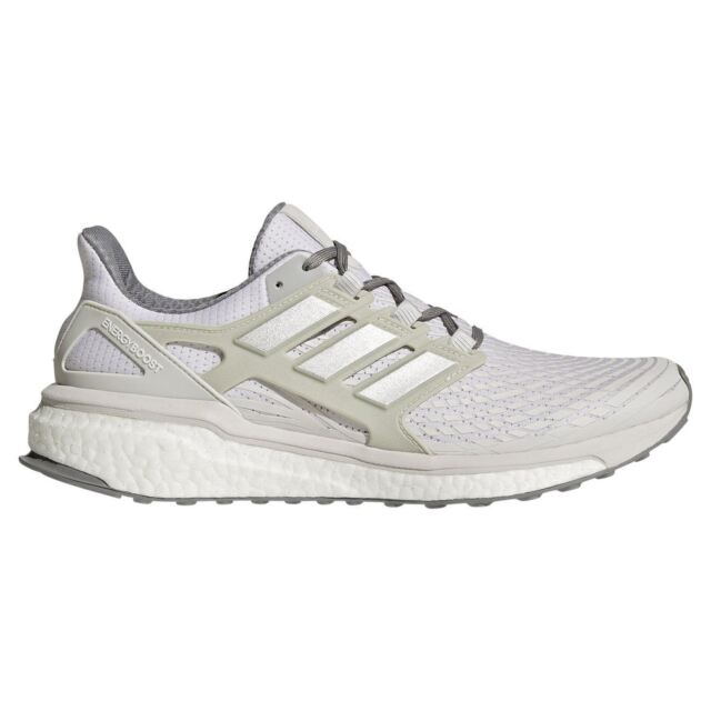 best sneakers 1d2da a6268 adidas MEN S ENERGY BOOST RUNNING TRAINERS WHITE MEN S FITNESS GYM COMFY NEW