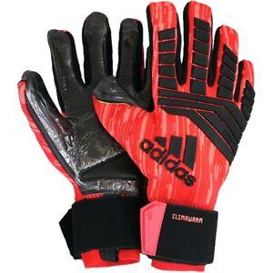 Details about Adidas Predator ClimaWarm Red Black Mens Goalkeeper Gloves Keeper Gloves New show original title