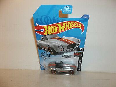 Sweet Ride. 2020 Hot Wheels HW Roadsters ZAMAC Shelby Cobra 427 S//C