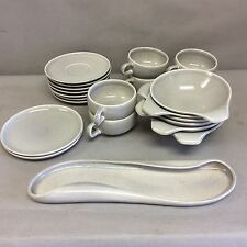 Russel Wright American Modern Dinnerware by Steubenville 22 Pcs.