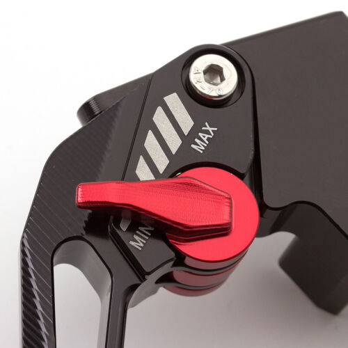 3D Rhombus Short//Long Clutch Brake Levers For Buell Ulysses XB12X 2009 Black/&Red