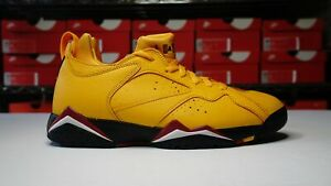 pretty nice discount good quality Details about Air Jordan 7 Retro Low NRG 'Taxi' Size 9 AR4422-701 Yellow