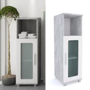 VICCO mobile midi RAYK bianco grigio - mobile bagno, mensola