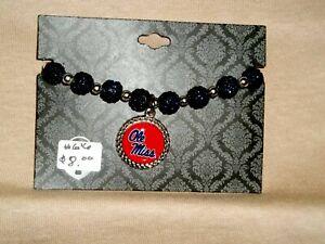 Ole Miss School Spirit Bracelet