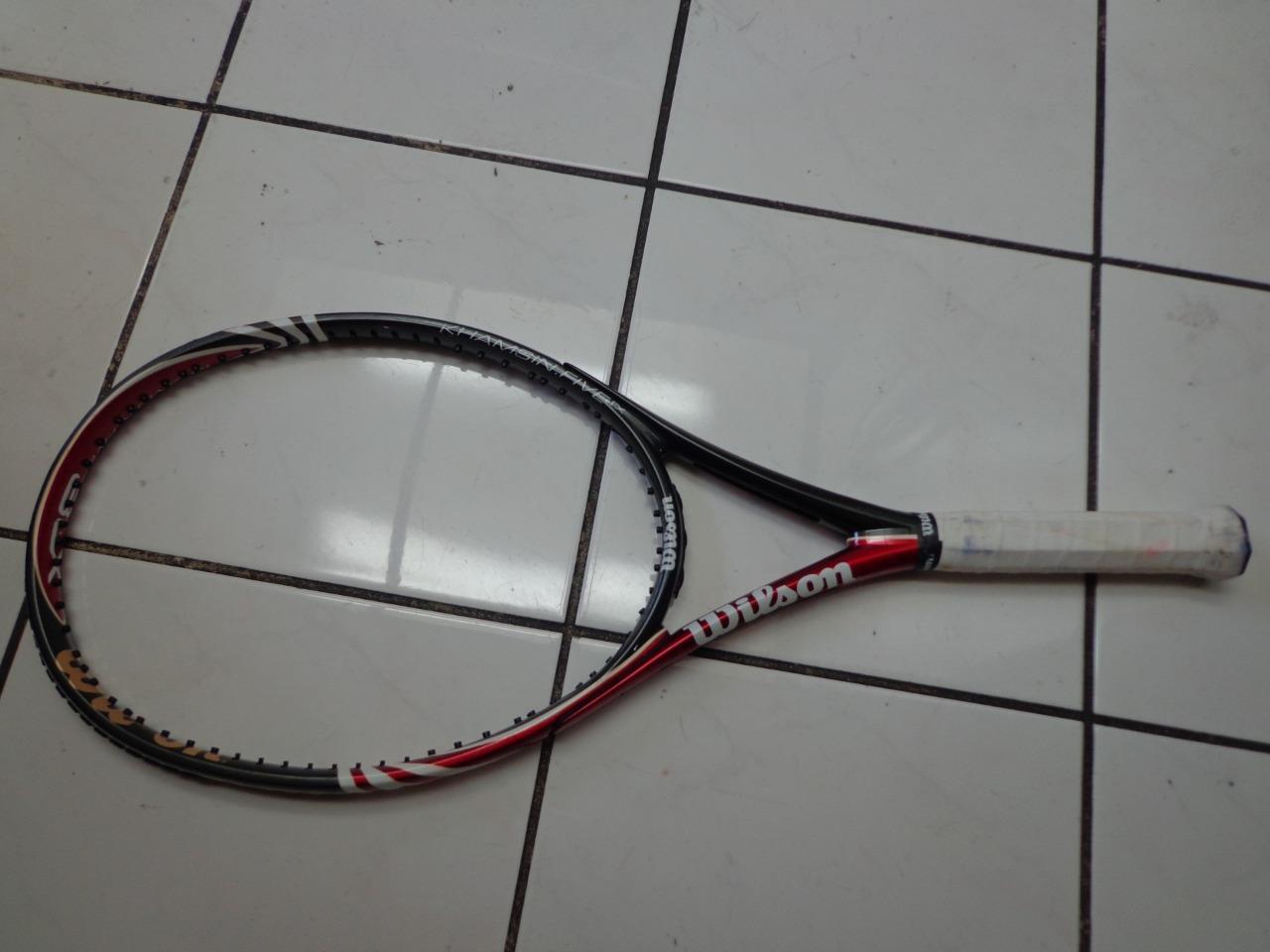 Wilson BLX Khamsin 5 108 108 108 head 4 1/2 grip Tennis Racquet 18a459