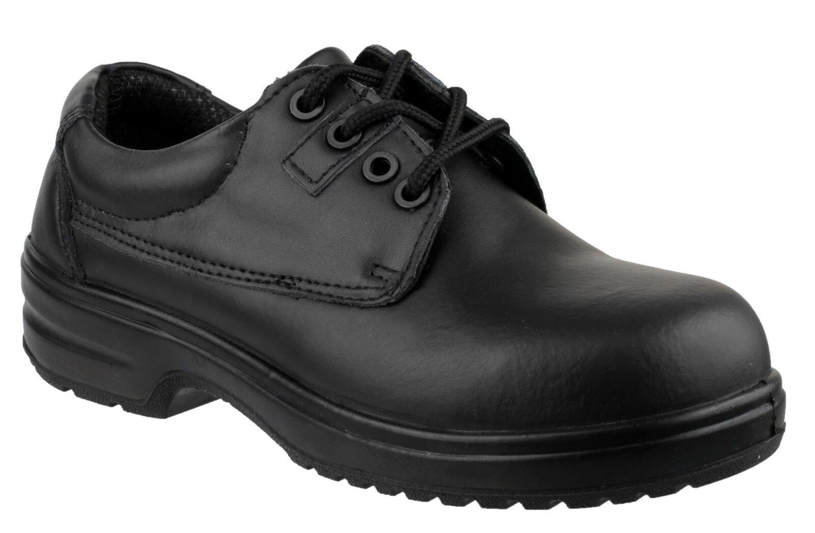 Amblers Safety femmes Lacets Composite chaussures noir Différentes Tailles FS121C