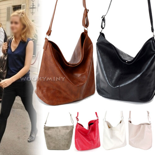 New Womens Lady Faux Leather Fashion Messenger Totes Purse Handbag Shoulder Bag