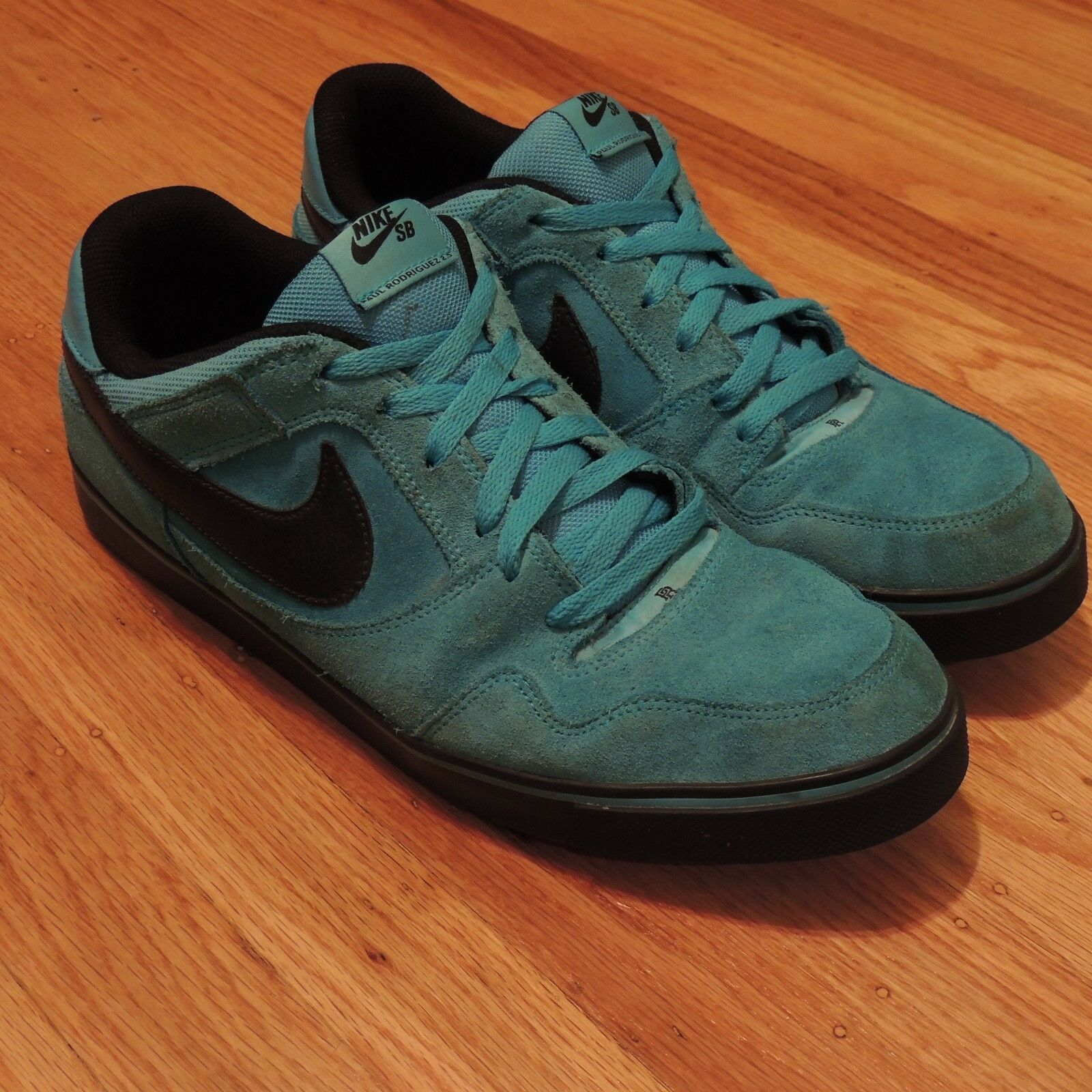 Nike SB Paul Rodrguez 2.5 Zoom Air Blue Black Supreme Mens Size 13 Low