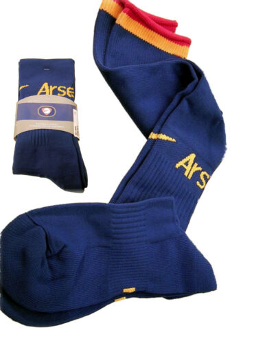 NIKE ARSENAL Football Socks Blue Youth Boys Girls UK 2.57 Eur 3541