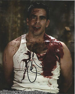 actor eli roth signed inglourious basterds 8x10 photo w