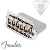 Genuine Fender Standard & Mexican 2 1/16 Strat Tremolo - Chrome 0071014049