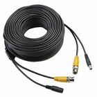 4x CCTV Security Camera Cable Video Power Cord Surveillance Wired BNC DVR 100ft