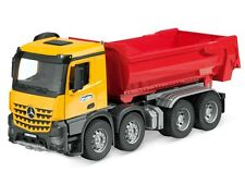 origi Mercedes Arocs 8x4 Kipper Halfpipe Kinder Auto 1:16 LKW Made by Bruder ®