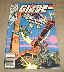 GI JOE #8 (1st Print Feb 1983) VG+ Condition Comic - G.I. JOE