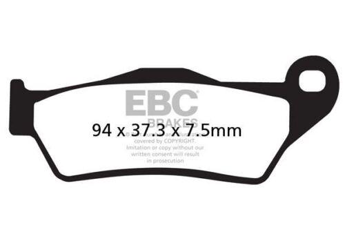 inc ABS 03/>06 EBC FRONT ORGANIC BRAKE PADS FIT PIAGGIO  X9 500 cc Evolution