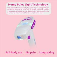 Electric Laser Epilator LCD display Permanent Hair Laser Home 200000 Light Pulse