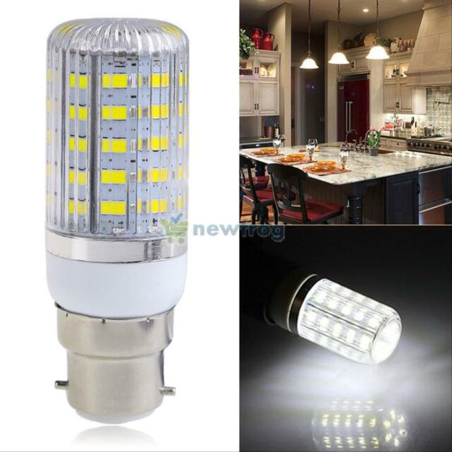 B22 Bayonet 10W 5730 SMD 48 LED Energy Saving Corn Light Spot Bulbs Cover Lamp
