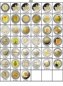 ALLE-LANDER-Verfuegbar-2-Euro-Gedenkmuenze-2016-BANKFRISCH-UNCIRCULATED