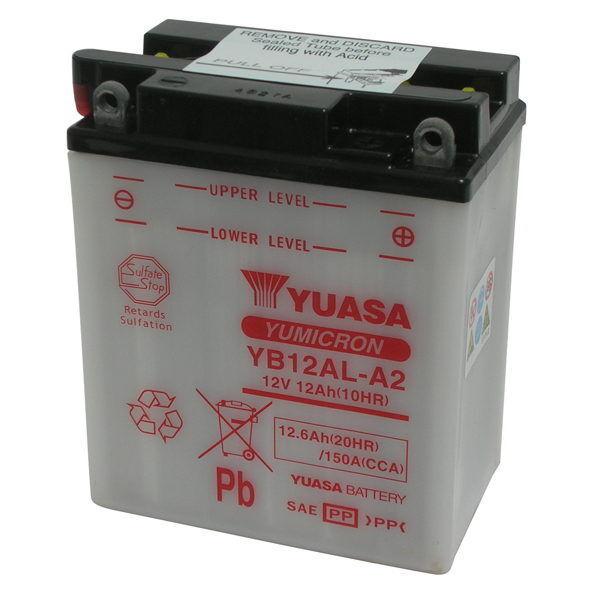 Batteria Originale Yuasa YB12AL-A2 + Acido BMW G650GS 08/10