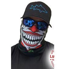 Salt Armour Clown Face Shield Sun Mask Neck Gaiter Balaclava *USA*