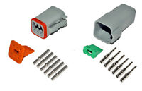 Deutsch Dt 6 Pin Connector Kit 16-20 Ga Solid Contacts