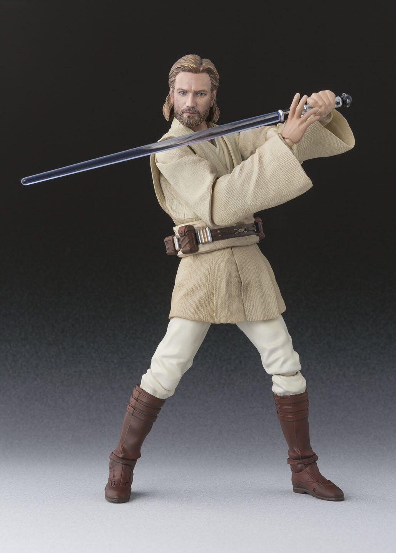 Bandai S. H. Figuarts Estrella Wars Obi-Wan Kenobi Ataque de los Clones