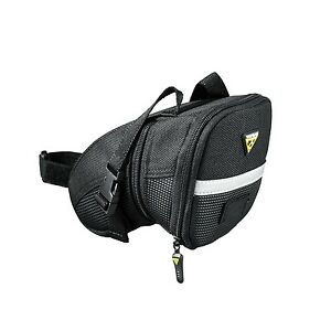 Topeak-TC2262B-Aero-Wedge-Pack-Bike-Bicycle-Strap-Saddle-Seat-Bag-Pannier
