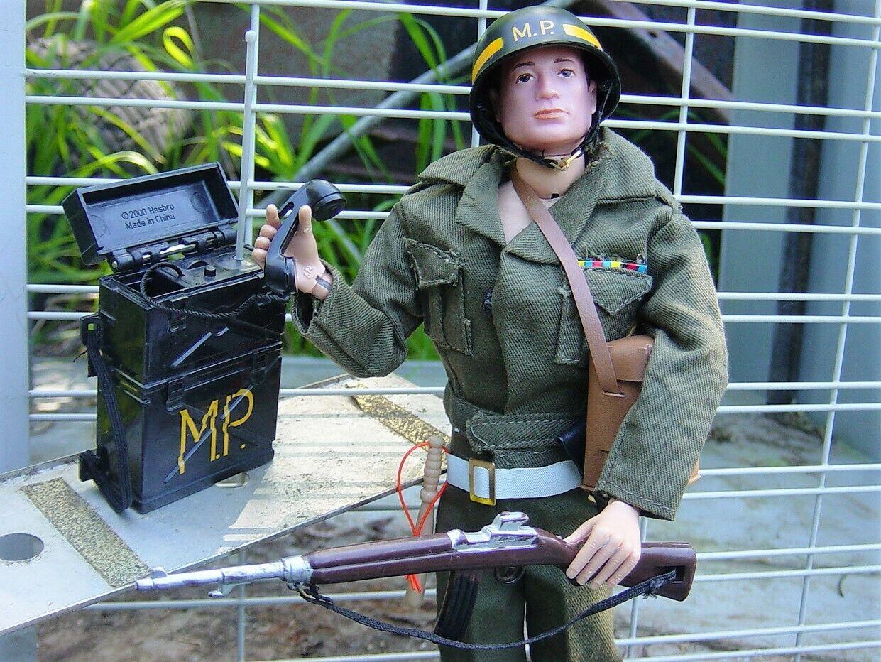 Vintagegi Joe, 1968 W kitbash MP uniforme, NICE Set