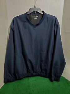 Grand-Slam-Men-039-s-Golf-Jacket-XXL-Long-Sleeve-Pull-Over-V-Neck-Blue
