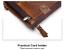 Men-Women-Genuine-Leather-Cowhide-Bifold-Wallet-Holder-Credit-Card-Retro-Purse miniature 10