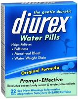 Diurex Water Pills 22 Each (pack Of 3) on sale